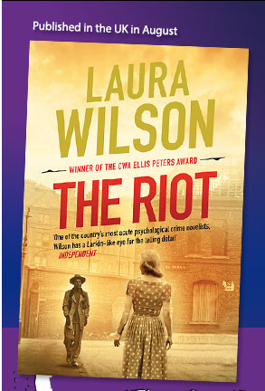 The Riot, book cover design